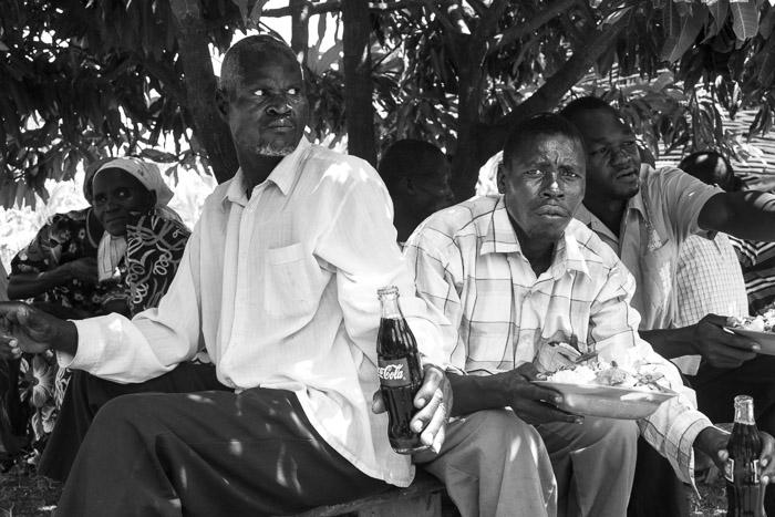 Pastors Eating